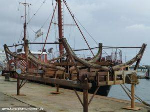 Museumsschiff im Sassnitzer Stadthafen