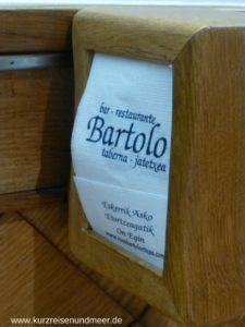 Das Bartolo kann ich nur empfehlen, eine tolle Atmosphäre