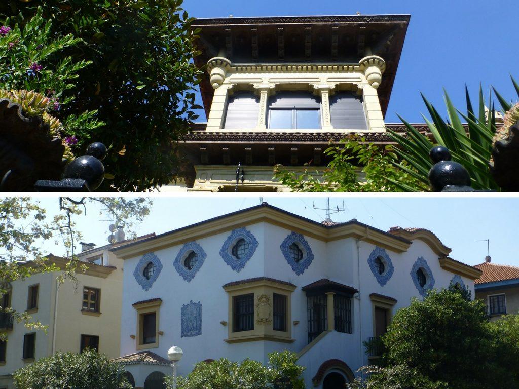Häuser in der Umgebung des NH Collection San Sebastian Aranzazu in Donostia - San Sebastian, Spanien
