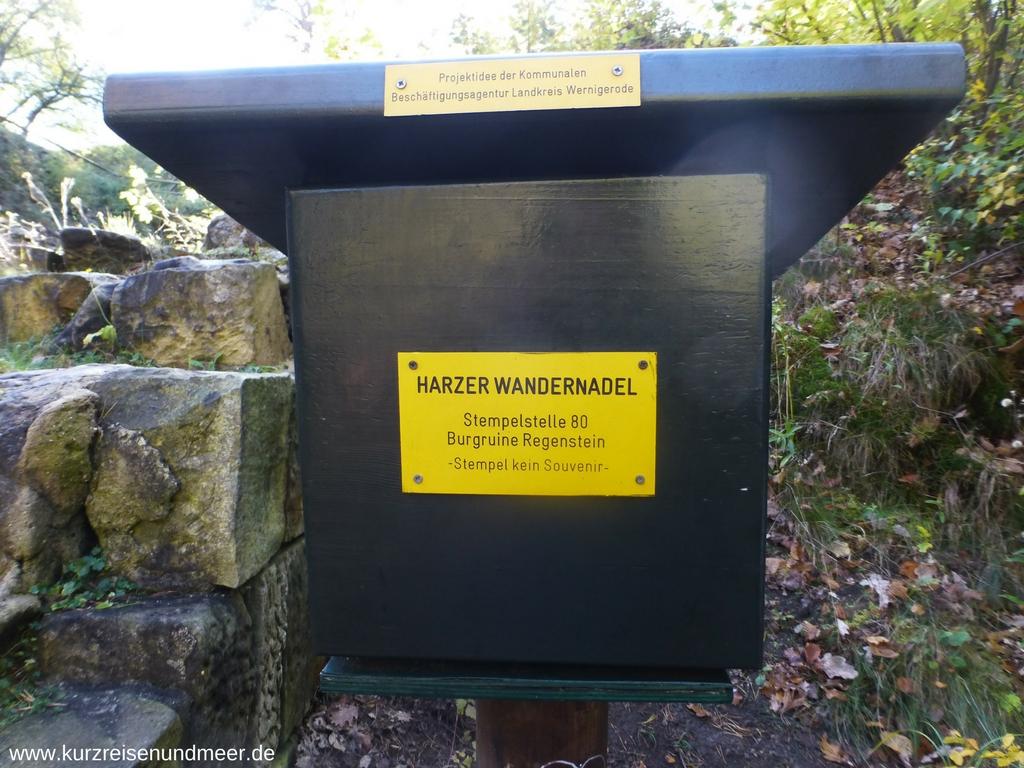 Kennst Du die Stempelstellen im Harz? Das ist die Nummer 80