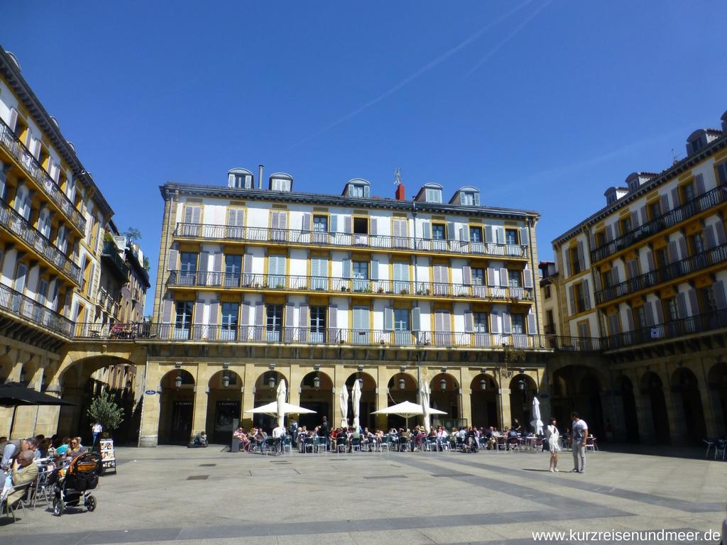 Die Plaza de la Constitución war einmal eine Stierkampfarena...