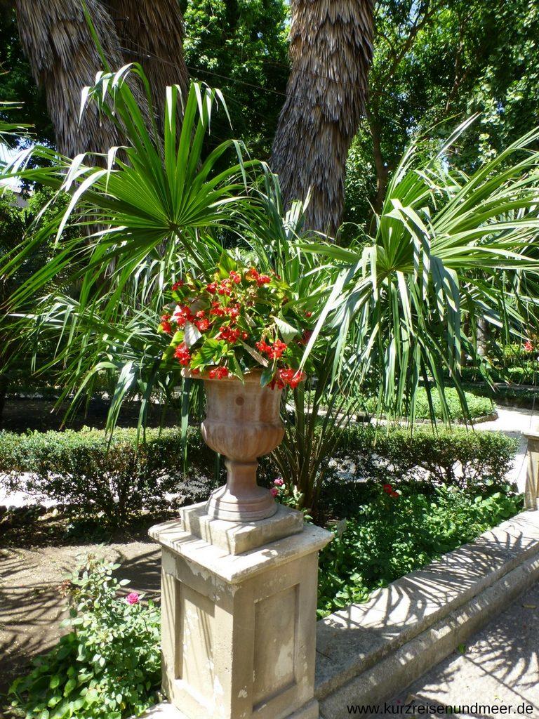 Wunderschöne Ruheoase: Der Botanische Garten in Catania