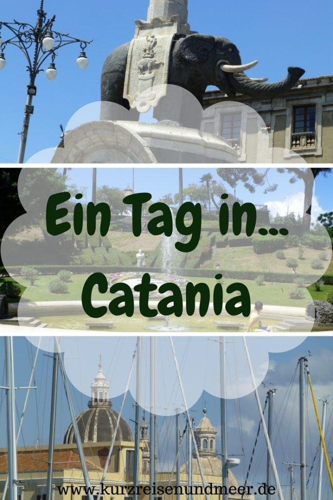 Warst Du schon einmal auf Sizilien in Catania? Lies' hier nach, was ich dort alles in einem Tag erlebt habe