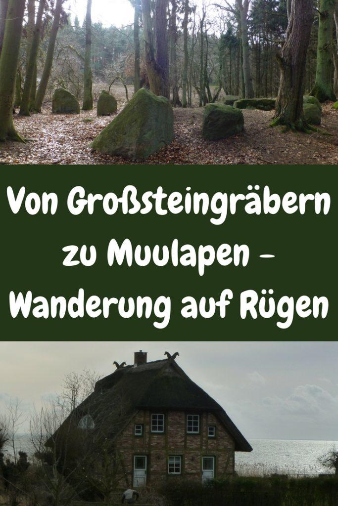 Hast Du schon einmal Großsteingräber besucht? Und Du fragst Dich, was Muulapen sind? Und wie ich Friedrich Wilhelm I. König von Preußen begegnet bin? Antworten darauf findest Du in meinem Blogbeitrag!